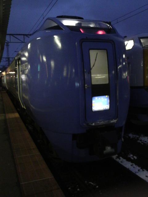 今から札幌へ